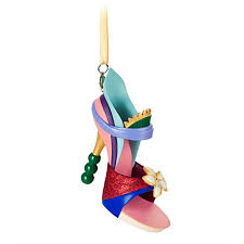 shoe ornament princess mulan