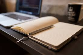 Work Table Desk Free Images Desk Notebook Writing Work Table Book Coffee