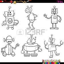 6 254 clipart robot cliparts stock vector royalty free