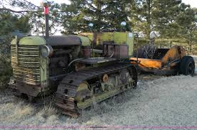 allis chalmers hd7 crawler tractor item d8766 sold marc