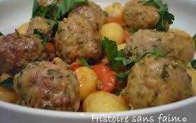 cuisiner le veau en cocotte recette cocotte de boulettes de veau aux zestes de citron 750g