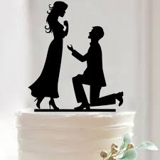 Wedding Cake Accessories Online Shop Merry Me Acrylic Proposal Wedding Cake Topper Wedding