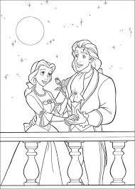 cinderella prince balcony coloring cinderella pages