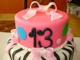 13 year old birthday cake youtube