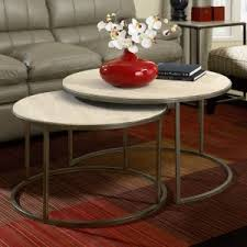 round living room table round coffee tables hayneedle