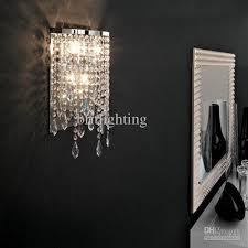 wall sconces modern lighting crystal bathroom wall lights home designs