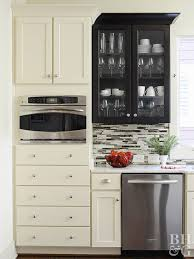 how to make cheap kitchen cabinets look better low cost cabinet makeovers better homes gardens