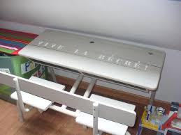 bureau customisé vive la récré photo 6 6 bureau d écolier customisé