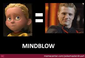 The Incredibles Memes - sadh from the incredibles is peeta from hungergames mindblow by
