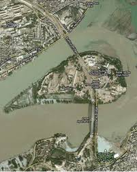 sukkur map if floods submerge rohri or sukkur blame the navy pakistan today