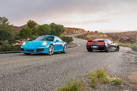 porsche s 911 2017 chevrolet corvette grand sport vs 2017 porsche 911 s