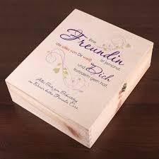 hochzeitsgeschenk beste freundin geschenkverpackung aus holz für die beste freundin