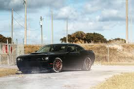 Dodge Challenger Matte Black - dodge challenger hellcat adv5 0 track spec cs matte bronze