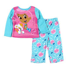 nick jr infant toddler fleece sleepwear set