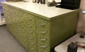 index card file cabinet vintage industrial steelcase index card filing cabinet set 49