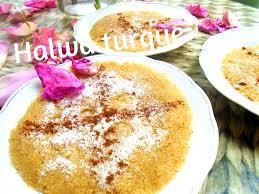cuisine turc un délice turc la halva semoule halva dessert turc