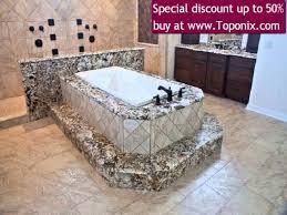 shop swanstone 96 in w x 48 in d arctic granite bathtub deck at