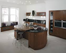white kitchen island with seating long kitchen island view full
