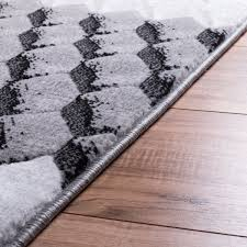 Black Modern Rug Dulcet Rugs Collection Modern And Traditional Styles Well Woven