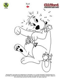 clifford coloring pages clifford the big red dog birthday