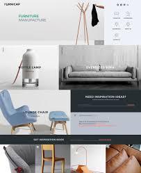 Chair Website Design Ideas 50 Interior Design Furniture Website Templates 2018