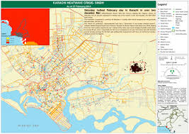 map of karachi karachi heatwave crisis sindh as of 27 february 2016