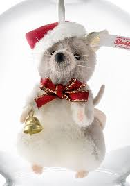 steiff 021657 mouse in bauble ornament limited edition
