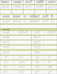 grade hw hindi spelling u0026 vocab worksheets cbse icse