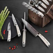 german steel kitchen knives cangshan s1 series 17 forged german steel knife set with