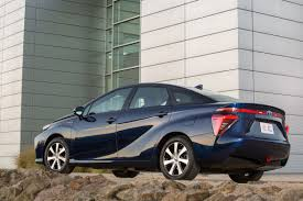 Toyota Mirai Hydrogen Fuel Cell Car Review Pictures Toyota