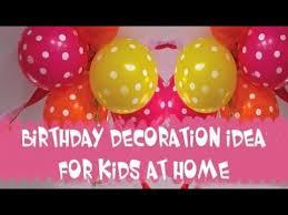 Birthday Decor At Home Birthday Party Decorations At Home Simple Birthday Decoration