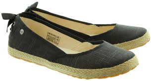 ugg womens indah shoes ugg indah marrakech flat pumps in black