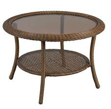 Ebay Wicker Patio Furniture Outdoor Coffee Table Wicker Patio Furniture Round All Weather