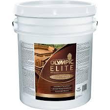 shop olympic elite woodland oil natural semi transparent exterior