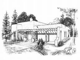 adobe homes plans adobe house plans small southwestern adobe home plan design 008h