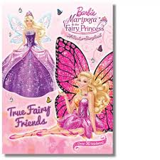 barbie mariposa fairy princess sticker storybook