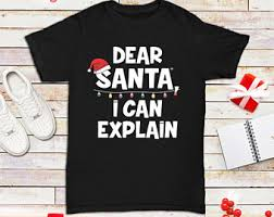 dear santa shirt etsy