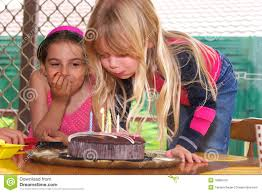 blowing out candles stock photo image of pretty 18686764
