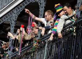 mardi gras beeds new orleans pulls 46 tons of mardi gras from drains