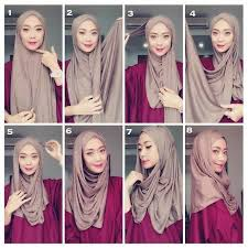 tutorial hijab pashmina tanpa dalaman ninja tutorial hijab pashmina simple elegan dan classic di tahun 2018