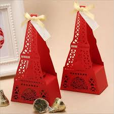eiffel tower favors 50pcs eiffel tower design pattern chocolate cookie sweet candy