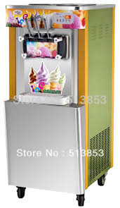 aliexpress com buy floor stand soft ice icecream maker cream
