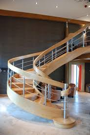 fresh wooden spiral staircase with unique timber spiral stairs