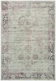 safavieh vintage vtg117 330 soft anthracite area rug