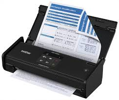 amazon com brother ads1000w compact color desktop scanner with