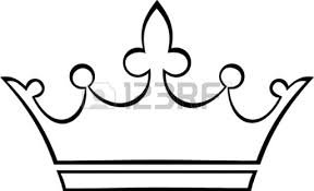 bold design king crown coloring queen crown coloring pages
