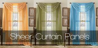 vue carrington 84inch sheer window curtain panel in ivory palazzo