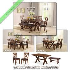 solid wood dining room sets solid wood dining set ebay