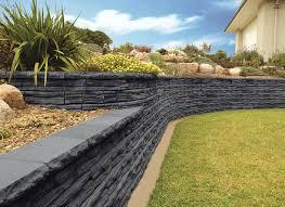 garden retaining wall design decorating ideas contemporary