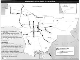 Green Line Metro Map by Here Are The U201cshovel Ready U201d Projects Measure M Will Fund First